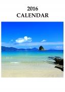 2016 カレンダー