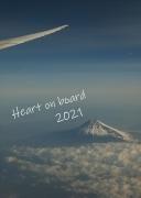 2021年カレンダー 世界の機窓から