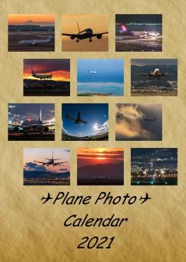 Plane Photo Calendar 2021(A3壁掛け版)